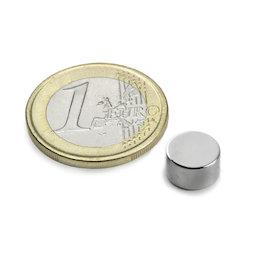 Neodym Magnete 4 x 1.5 mm Supermagnete hohe Haftkraft Scheibenmagnet N35 magnets