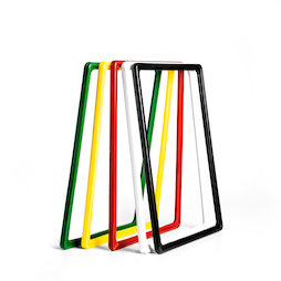 SF-FRM-A4, Sign frame A4, made of plastic, with rounded corners, u-pocket included