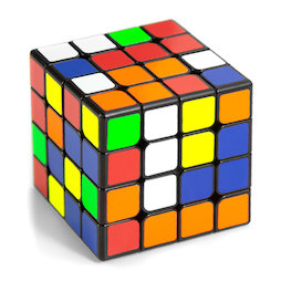 TG-CUBE-02, Magic cube 4x4, speed cube magnetic, WuQue Mini M by QiYi