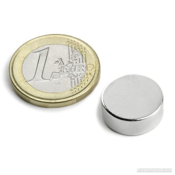 Neodym Magnete 18 x 3 mm Supermagnete hohe Haftkraft Scheibenmagnet N35 5 Stück